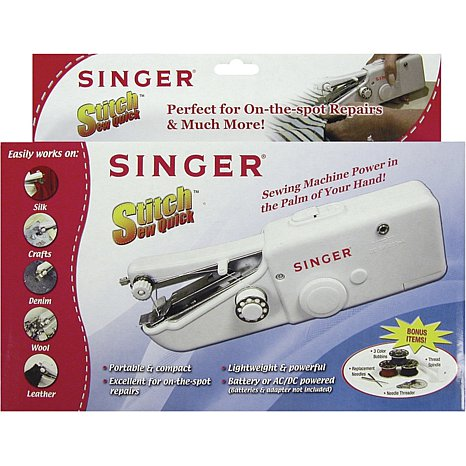 Best Brands Of Handheld Sewing Machines Portable Everywhere Fascinating How To Use Singer Handheld Sewing Machine