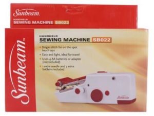 Sunbeam handheld sewing machine